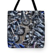 Ride And Shine Tote Bag