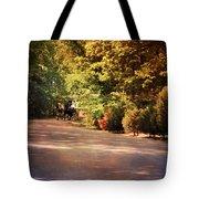 Ride At Timbers Farm Tote Bag by Jai Johnson