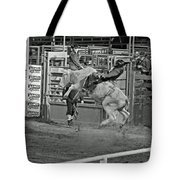 Ride 'em Cowboy Tote Bag by Shawn Naranjo