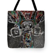 Ride Like The Devil Tote Bag