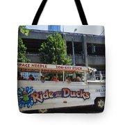 Ride The Ducks Tote Bag