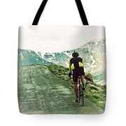 Ride The Rockies Tote Bag