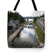 Rideau Canal And Locks - Ottawa Tote Bag