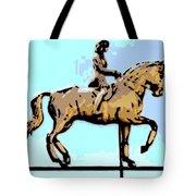 Riding Copper Tote Bag