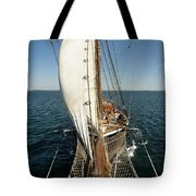 Riding The Breeze Tote Bag