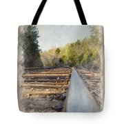 Riding The Rail II Tote Bag