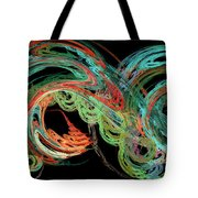 Riding The Rainbow Tote Bag