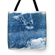 Riding The Wave The Gull Tote Bag