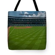 Right Field Of Oriole Park At Camden Yard Tote Bag