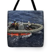 Rigid-hull Inflatable Boat Operators Tote Bag