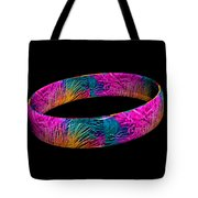 Ring Of Feathers 3d Tote Bag