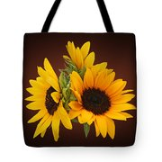 Ring Of Sunflowers Tote Bag