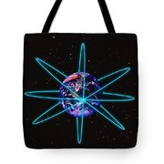 Rings Around The Earth Tote Bag