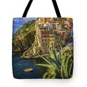 Rio Maggiore Cinque Terre Italy Tote Bag