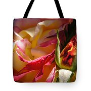 Rio Samba Rose And Bud Tote Bag