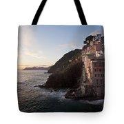 Riomaggio Sunset Tote Bag