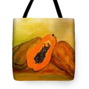 Ripe Papaya Tote Bag