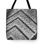 Ripple Effect Bw Palm Springs Tote Bag