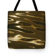 Ripples Of Water Reflect The Setting Tote Bag