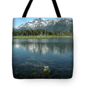 Ripples On Lake Of Mt Tallac Tote Bag