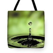 Ripples Radiating Out From Drop Tote Bag