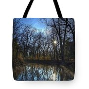 Rising On The River Tote Bag