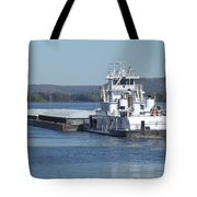 River Barge Tote Bag