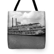 River Boat Queen Tote Bag