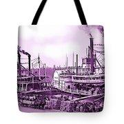 River Boats Tote Bag
