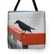 River Crow Tote Bag