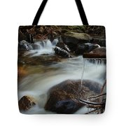 River Detail Tote Bag