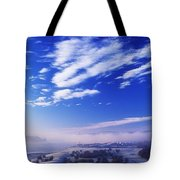 River Foyle, Co Derry, Northern Ireland Tote Bag