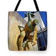 River God Tyne Sculpture IIi Tote Bag