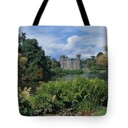 River In Front Of A Castle, Johnstown Tote Bag