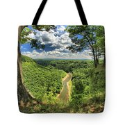 River In The Valley Tote Bag