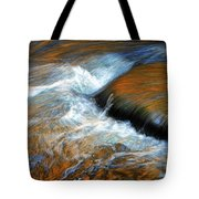 River Of Fire Tote Bag