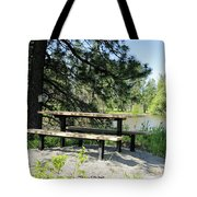 River Rest Stop Tote Bag
