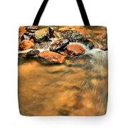 River Rock Swirl Tote Bag