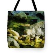 River Rocks 3 Tote Bag