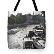 River Seine. Paris Tote Bag