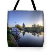 River Sunrise Tote Bag