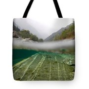 River Surface Tote Bag