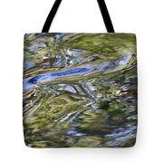 River Swirls - Abstract Tote Bag