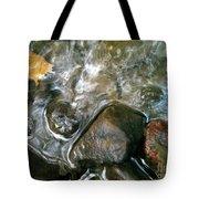 River Swirls Tote Bag