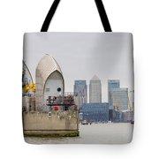 River Thames Landscape Tote Bag