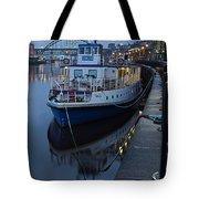 River Tyne Cruise Ship Tote Bag