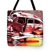 River Wreck Ver2 Tote Bag