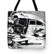 River Wreck Ver3 Tote Bag