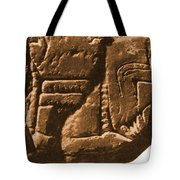 Riverboat On Ancient Seal Tote Bag