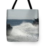 Riverine Command Boats And Security Tote Bag